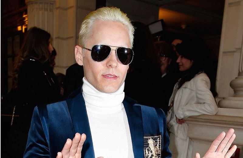 jared leto platinum blonde