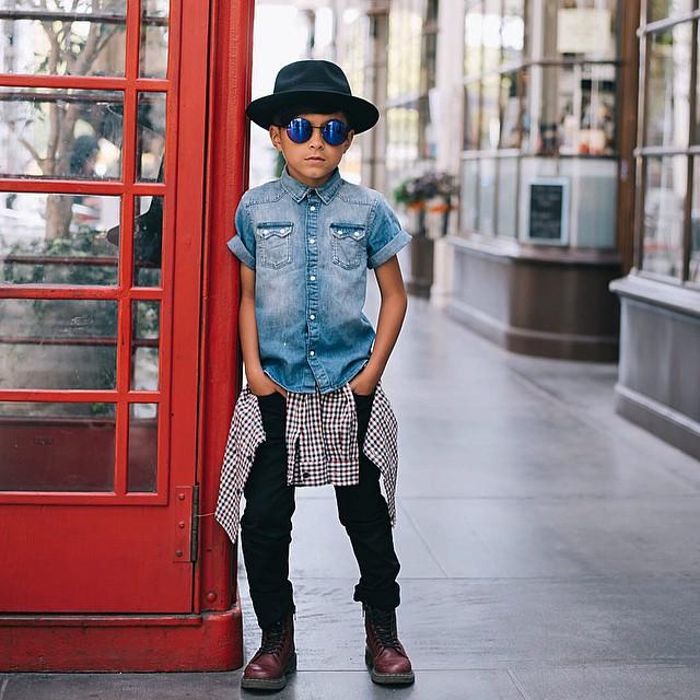 gaving fashion kid