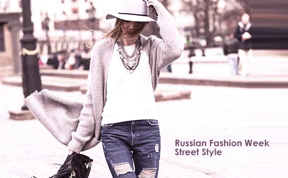 russian fashion week street style