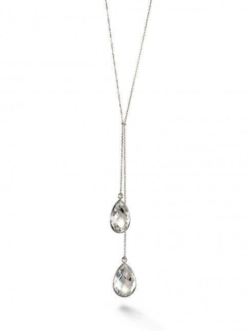 double drop y necklace