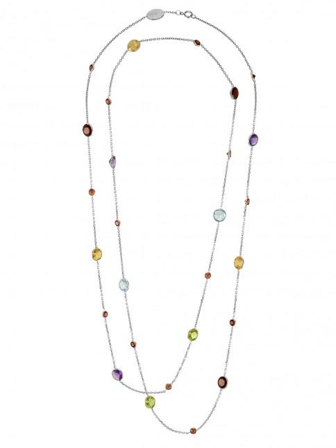 necklace multi stone