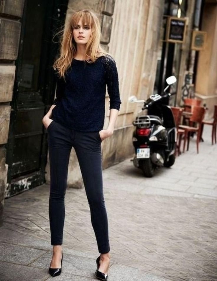 french girl style blonde