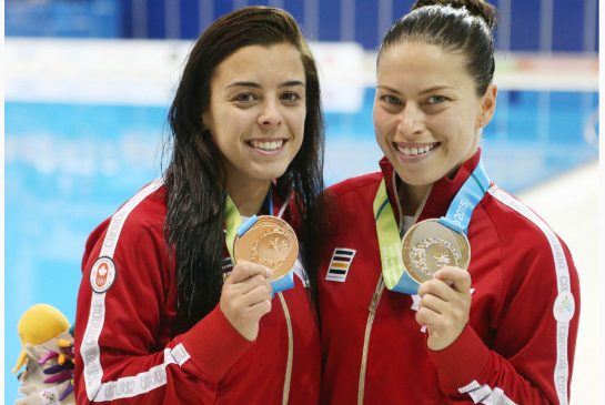 meaghan benfeito roseline filion pan am games canada