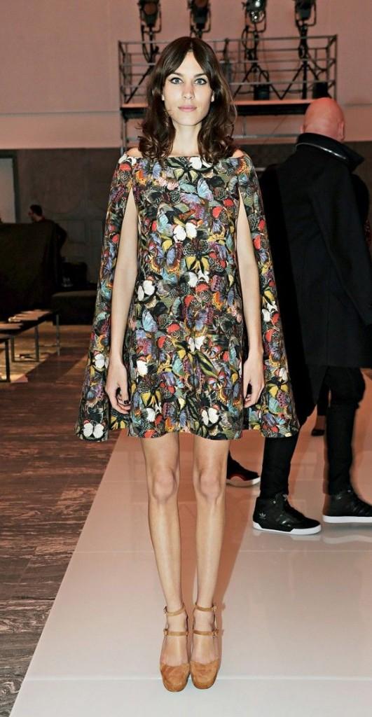 alexa chung print dress